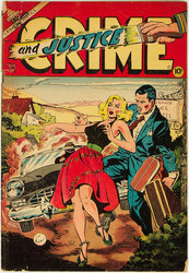 Crime and Justice #15 (1951 - 1955) Comic Book Value