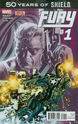 Fury: S.H.I.E..LD. 50th Anniversary #1 Deodato Jr. Cover (2015 - 2015) Comic Book Value