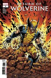 Return of Wolverine #1 McNiven Cover (2018 - ) Comic Book Value