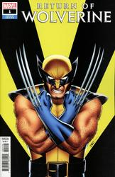Return of Wolverine #1 Cassaday 1:50 Variant (2018 - ) Comic Book Value