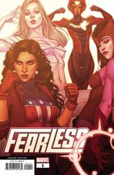 Fearless #1 Frison Variant (2019 - 2019) Comic Book Value