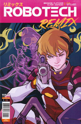 Robotech Remix #1 Kerschl Cover (2019 - ) Comic Book Value