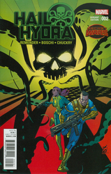 Hail Hydra #2 Garney 1:25 Variant (2015 - 2016) Comic Book Value