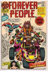 Forever People, The #1 (1971 - 1972) Comic Book Value