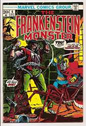 Frankenstein #6 (1973 - 1975) Comic Book Value