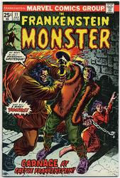 Frankenstein #11 (1973 - 1975) Comic Book Value