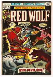 Red Wolf #6 (1972 - 1973) Comic Book Value