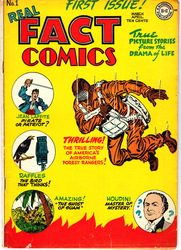 Real Fact Comics #1 (1946 - 1949) Comic Book Value